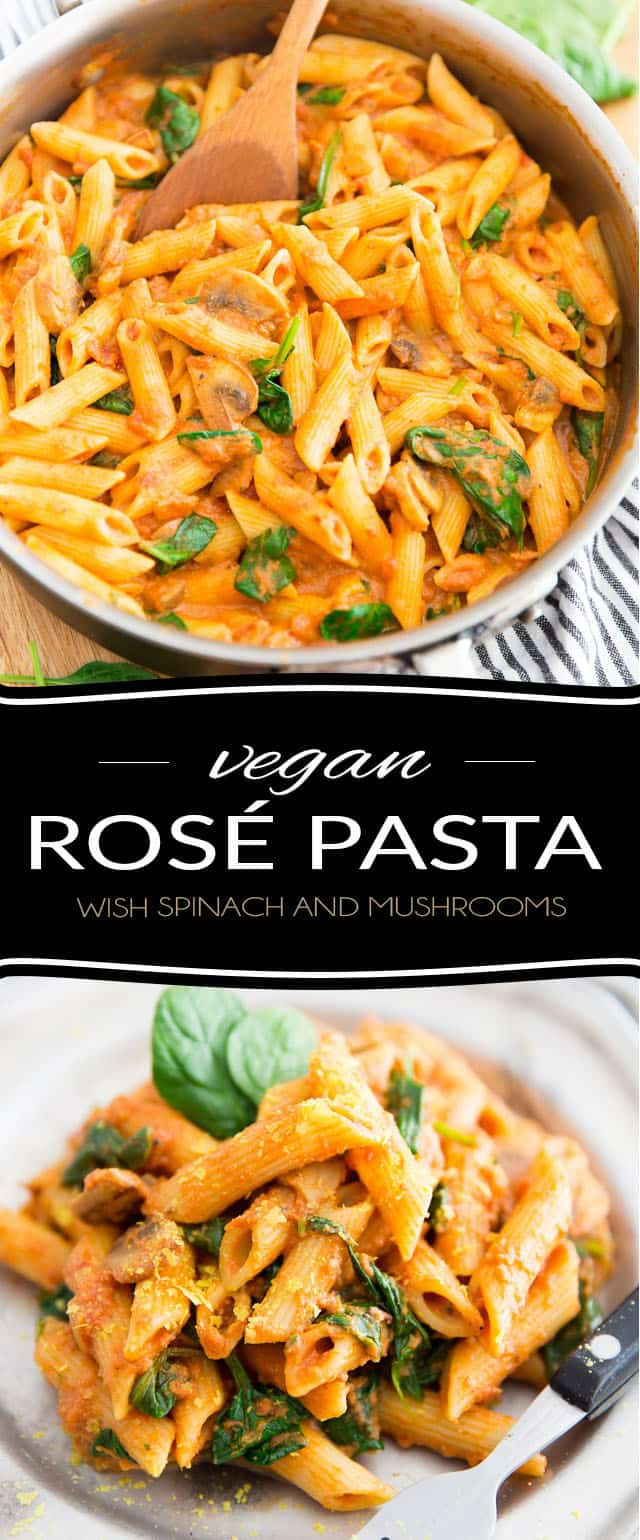 "Quickly and easily pimp your favorite jarred marinara sauce and turn it into an exquisite and ""regular-rotation-worthy"" Vegan Rosé Pasta dish using only a few very simple, and surprising, ingredients!"