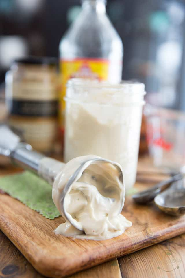 Foolproof Vegan Mayonnaise by Sonia! The Healthy Foodie | Recipe on thehealthyfoodie.com