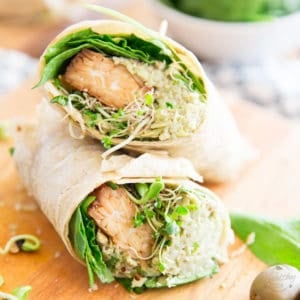 Tired of the same old wrap combinations? I've got something totally different and wholeheartedly delicious for you. Try this Smoky Tempeh Artichoke Wrap once, you'll get cravings for it for the rest of your life...