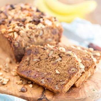 Vegan Banana Bread by Sonia! The Healthy Foodie | Recipe on thehealthyfoodie.com