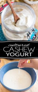 Cultured Cashew Yogurt has a super thick, creamy and velvety texture coupled with a deliciously nutty, tangy flavor. The best part is, it's so stupid easy to make at home, you'll never want to go for store-bought ever again.