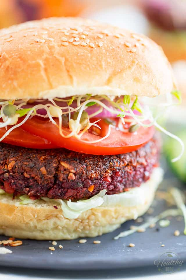 Vegan Better Burger by Sonia! The Healthy Foodie | Recipe on thehealthyfoodie.com