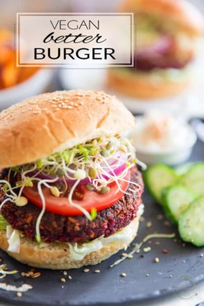 Forget about those store-bought, lab-created Vegan Burgers made with tons of weird ingredients whose names you can't even pronounce. Quickly and easily make your very own scrumptious Vegan Better Burger at home for a fraction of the price, no dictionnary required!
