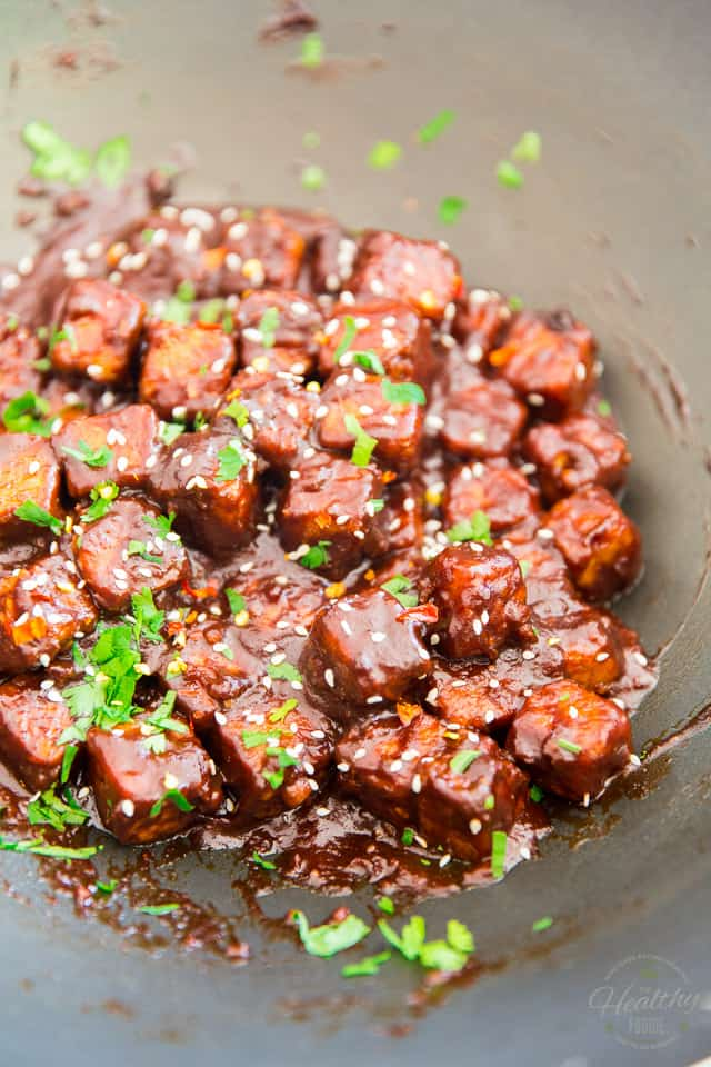 General Tso's Tempeh by Sonia! The Healthy Foodie | Recipe on thehealthyfoodie.com