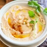 aw Sprouted Chickpea Hummus by Sonia! The Healthy Foodie | Recipe on thehealthyfoodie.com