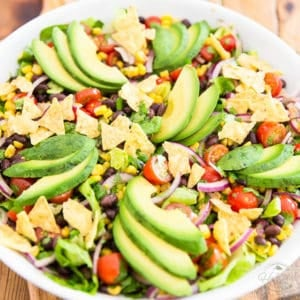 Vegan Santa Fe Salad by Sonia! The Healthy Foodie | Recipe on thehealthyfoodie.com