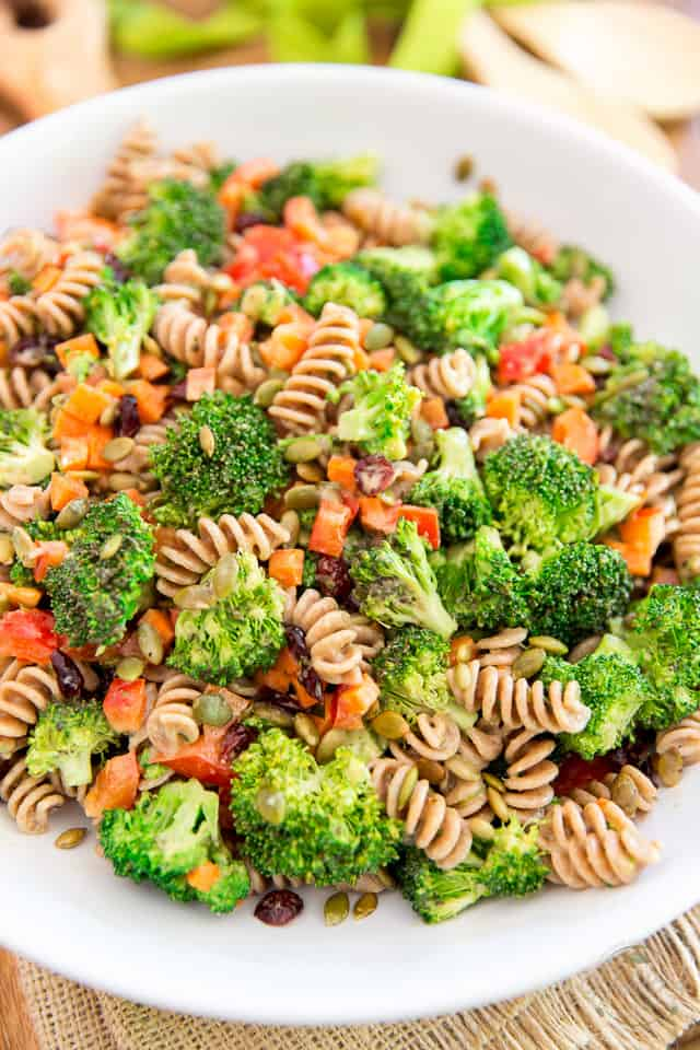 Vegan Broccoli Pasta Salad