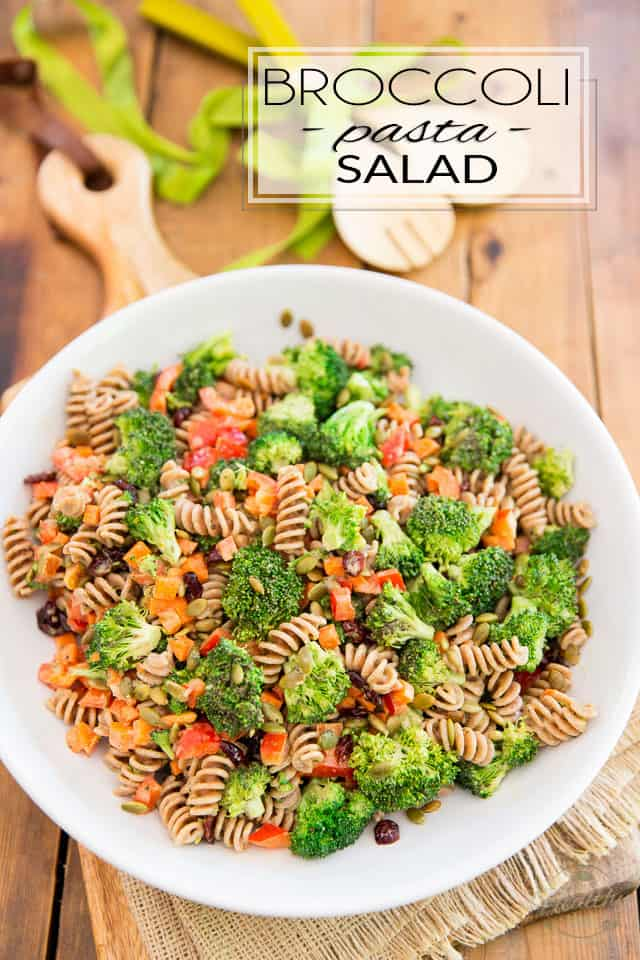 This Vegan Broccoli Pasta Salad is so incredibly tasty that no one will realize exactly how much veggies they're acctually eating! It's the perfect way to get kids and picky eaters to get their daily intake!