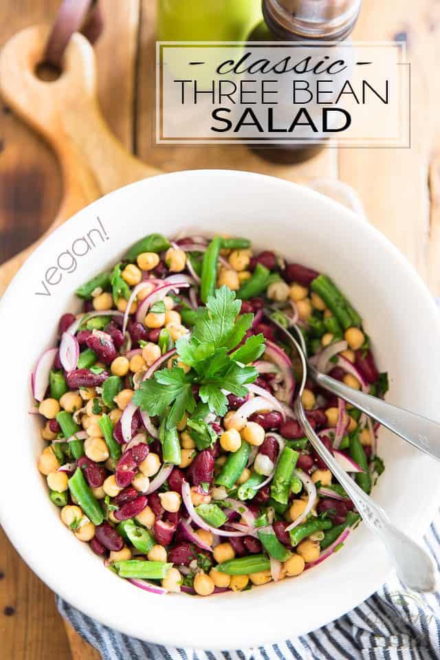 Three Bean Salad Recipe Healthy