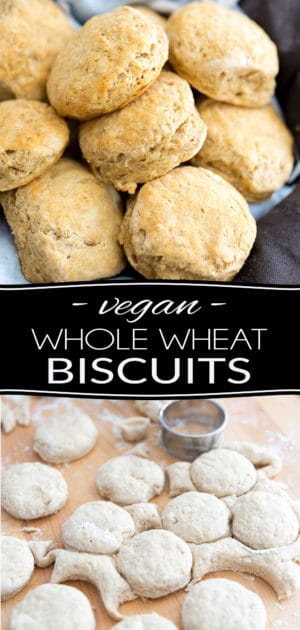 Biscuits are an undeniable classic American treat and a must-have on your Thanksgiving table. Those Whole Wheat Biscuits are a lot easier to make than you might think, and much healthier, too! Oh, and they are vegan, to boot!