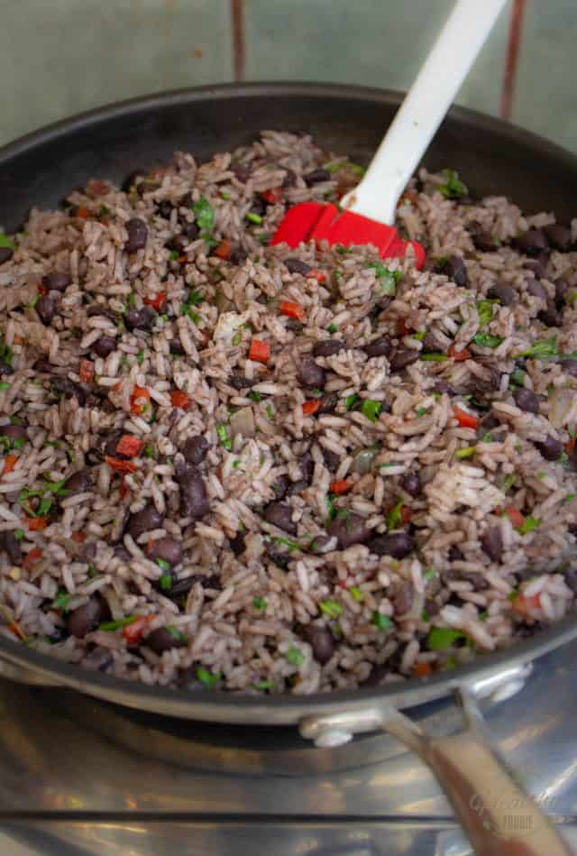Gallo Pinto, ready to serve