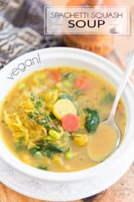 Move over noodles, Spaghetti Squash Soup is here! Deliciously hearty and comforting, it's the perfect meal to make you feel better inside and out when winter refuses to go…