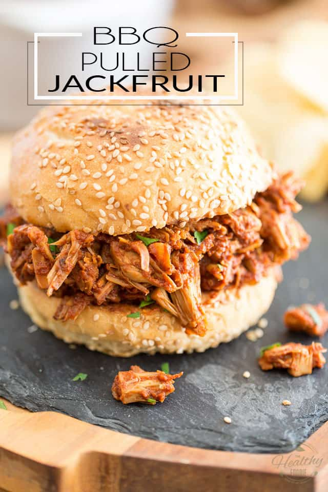 This Sweet BBQ Pulled Jackfruit is so moist and tasty and crazy similar to the real deal, even the fiercest of meat lovers will be all over it!